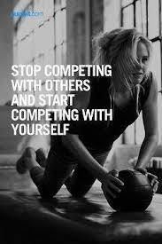 Healthy Competition With Yourself