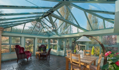 How many Conservatory Roof Styles are available?