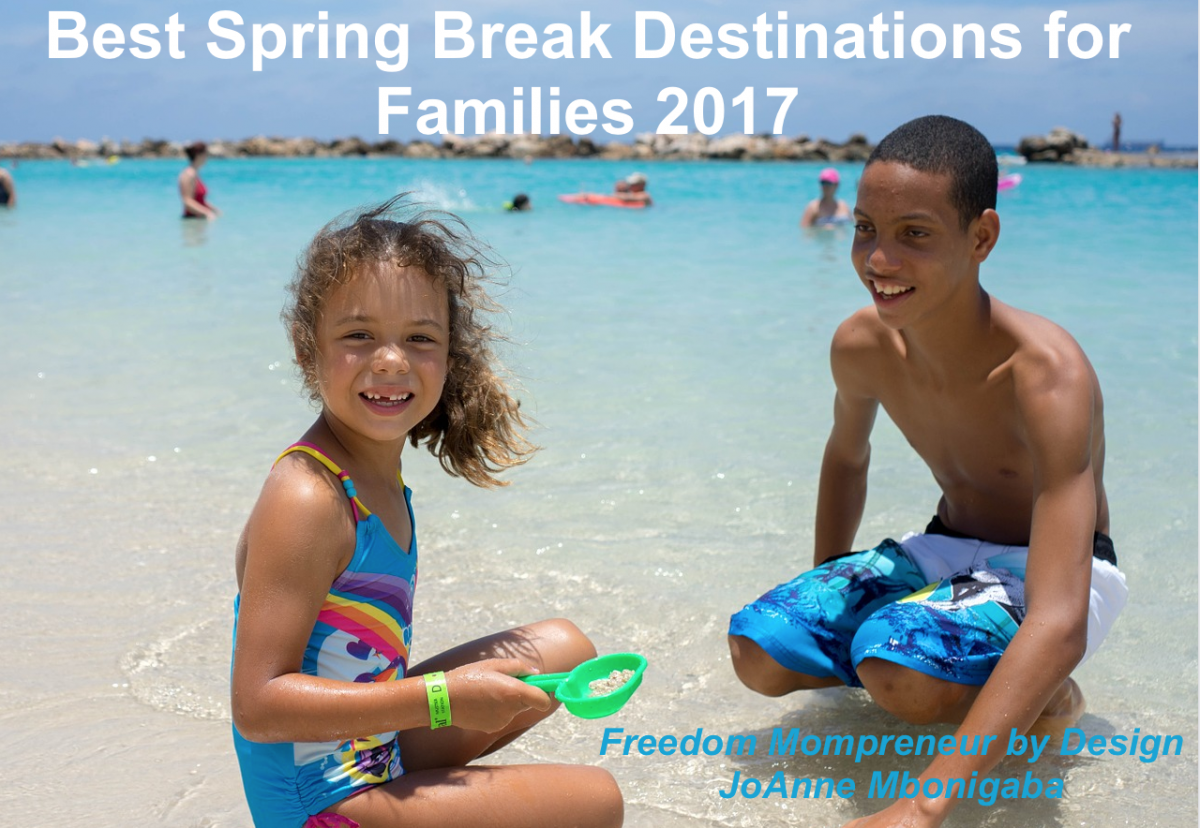 Best Spring Break Destinations for Families 2017