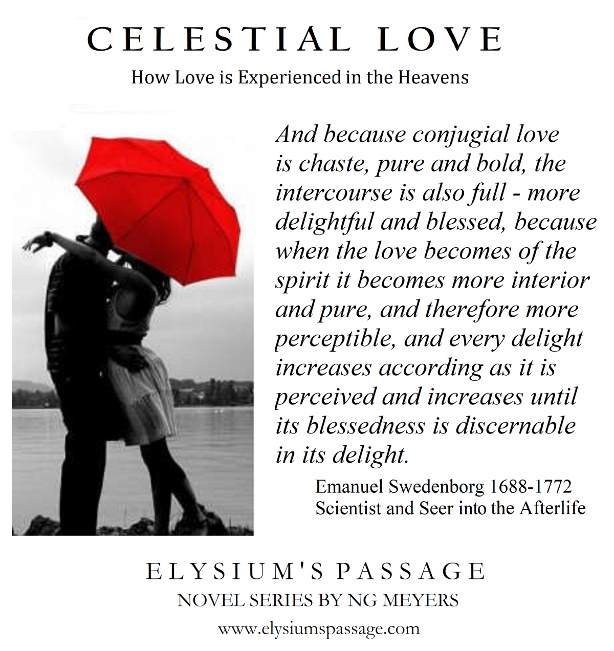 CELESTIAL LOVE - AND HOW JAMES GOT NUN