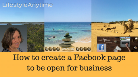 How To Create A Facebook Page And Be Open For Business