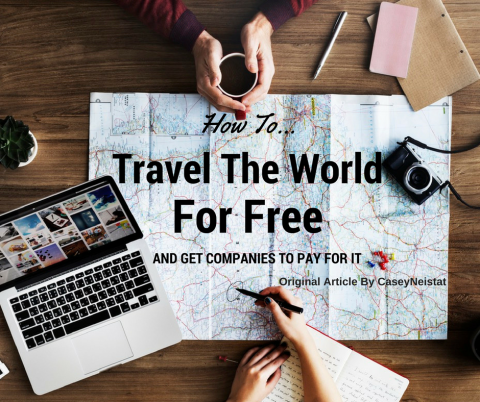 How to travel the world and get companies to pay for it.