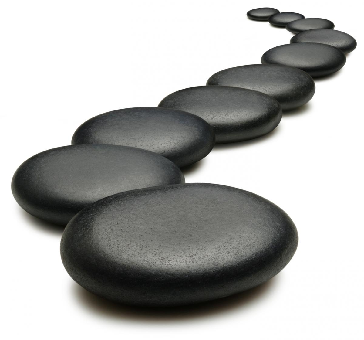 Stepping stones to success!
