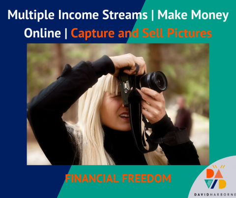 Multiple Income Streams | Make Money Online | Capture and Sell Pictures