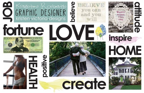 How to Create a Vision Board - Lifestyle Creation