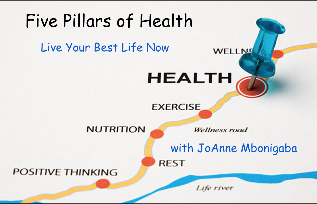 5 Pillars of Health - Live Your Best Life Now