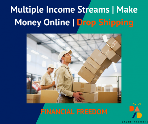 Multiple Income Streams | Make Money Online | Make A Drop Shipping Site