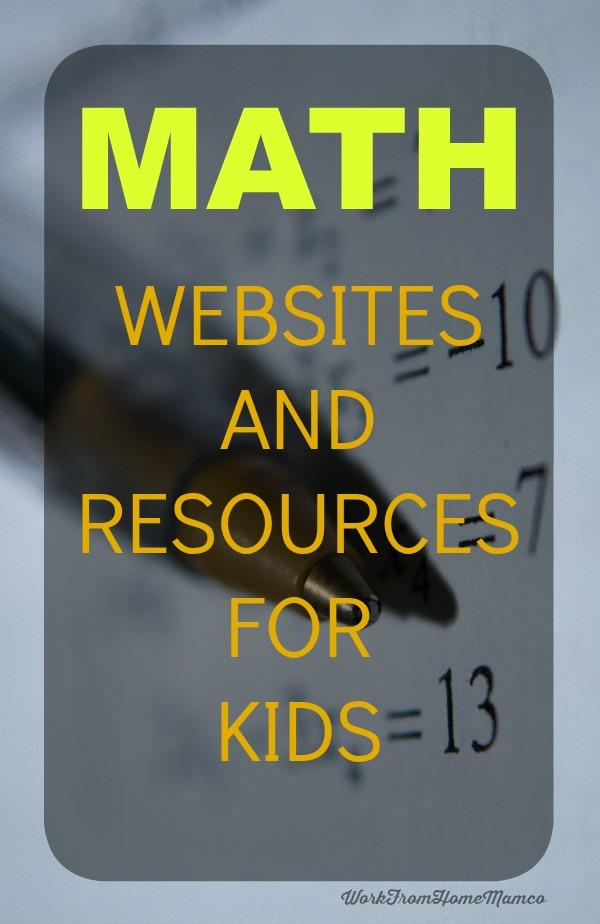 Math Websites and Resources for Kids