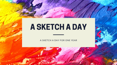 A New Challenge-A Sketch A Day