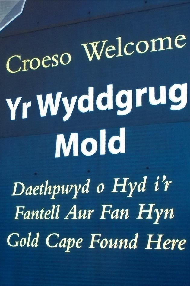 The Welsh Town of Yr Wyddgrug (Mold)