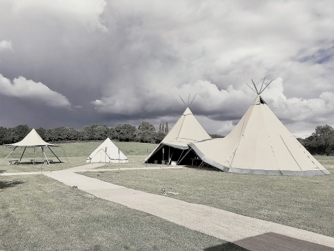 Sumners Ponds - Double Tipi Tent