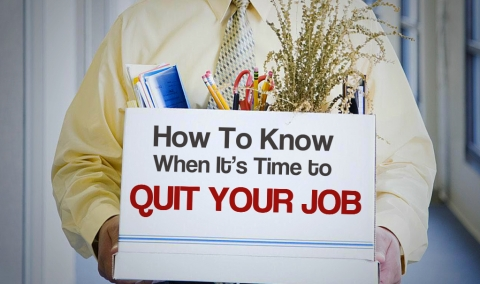 How To Know When It's Time To Quit Your Job