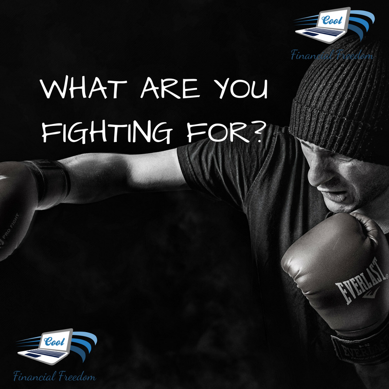 Are You Fighting for Something or Just to Survive?