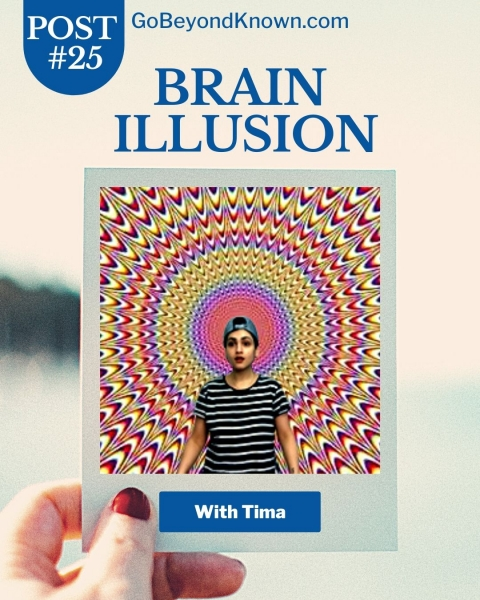 Brain Illusion (Optical Illusion)