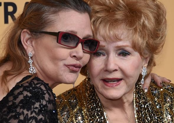 In Memory of Carrie Fisher and Debbie Reynolds