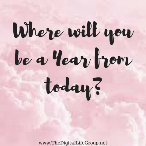 Where Will You Be A Year From Today?