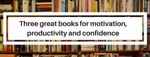 Three great books for productivity