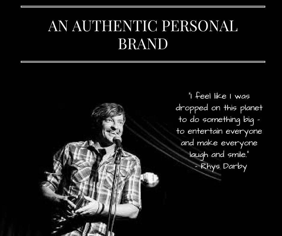 An Authentic Personal Brand