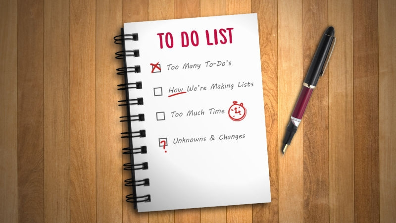 To Do lists...help or hindrance?