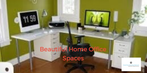 Beautiful home office spaces