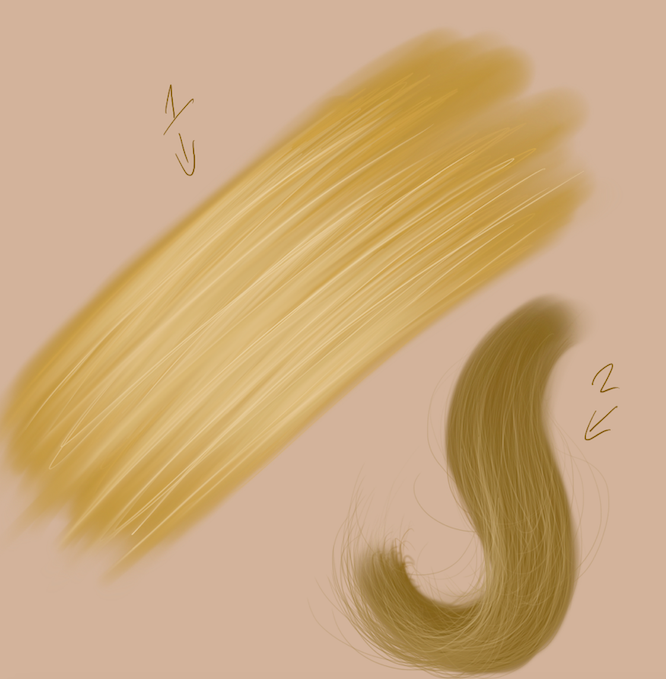 Drawing Hair (Beginner Tips On How To Draw It Digitally)