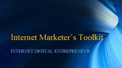 Free Offer - Internet Marketer's Toolkit (Download Today)
