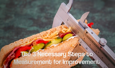 The 3 Necessary Steps to Measurement for Improvement