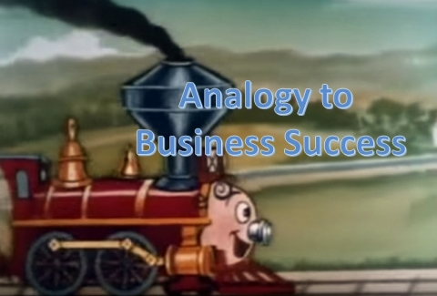 Analogy Of The Little Red Engine to Business Success