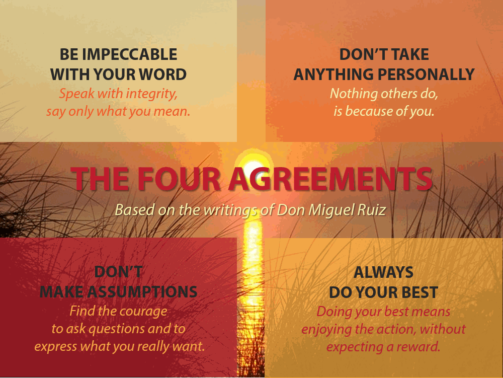 The Four Agreements Of Toltec Wisdom