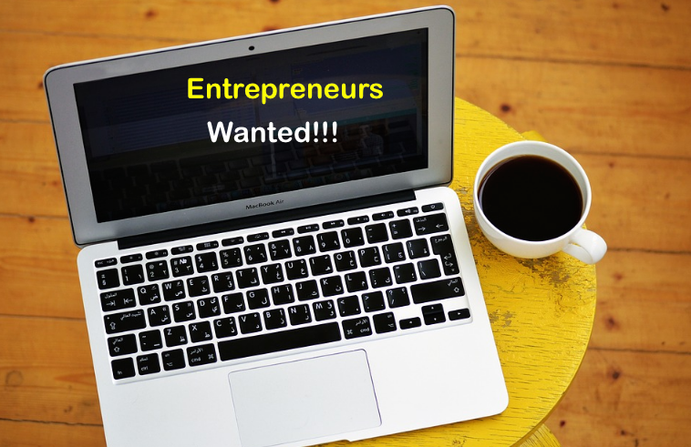 Laptop Entrepreneurs Wanted!