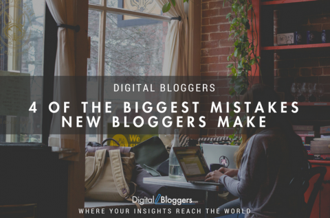 4 of the Biggest Mistakes New Bloggers Make