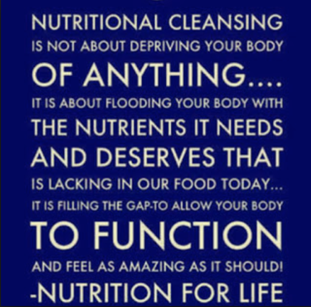 What is nutritional cleansing?
