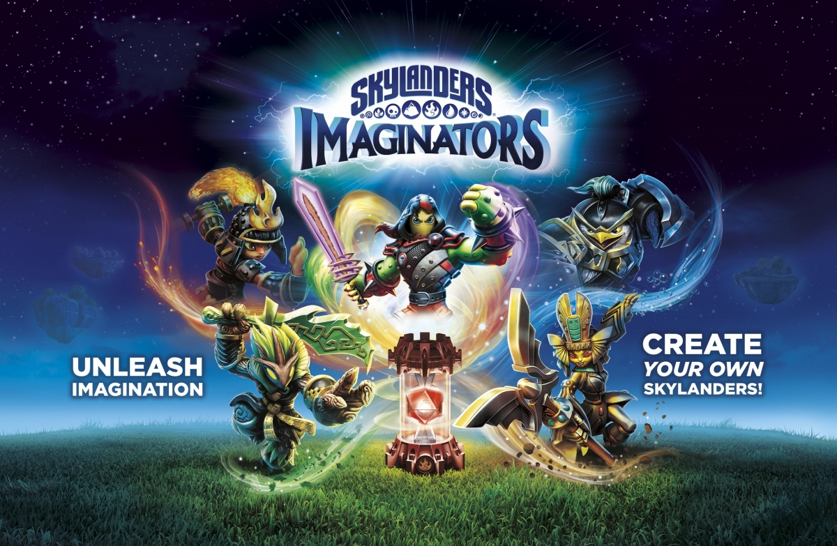 Skylanders Imaginators. This years top choice by kids.