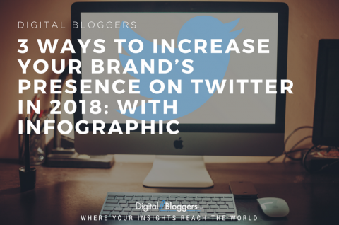 3 Ways to Increase Your Brand's Presence On Twitter in 2018