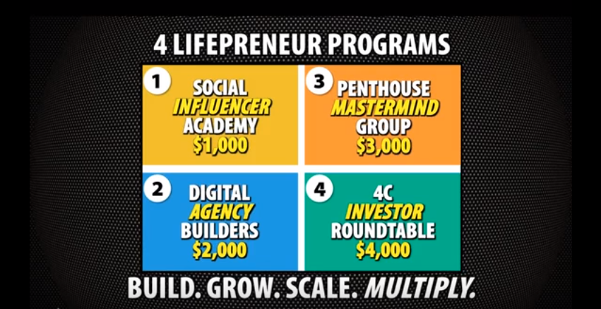 lifepreneur products