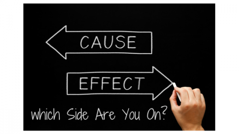 Cause And Effect, Which Side Are You On?