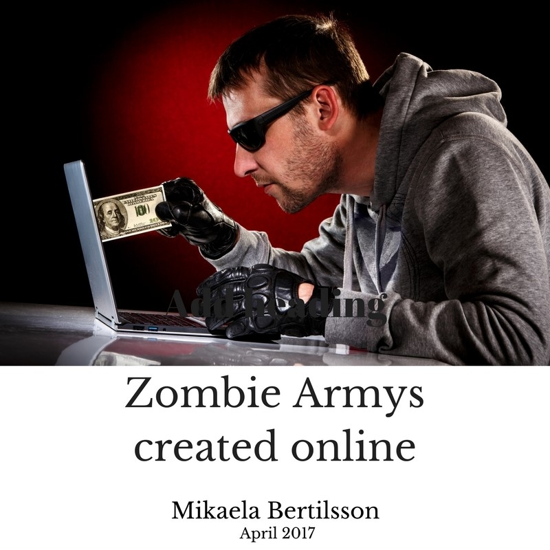 Zombie armys created online