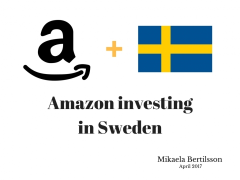 Amazon investing in Sweden !