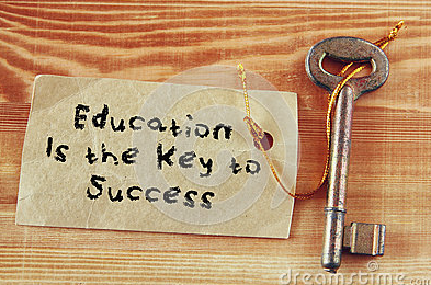 Is education the key to success in life?