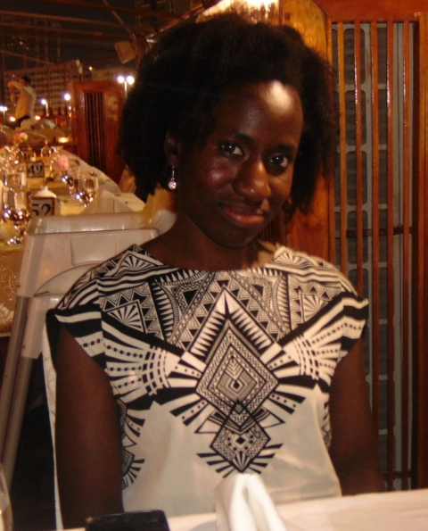 Author Eva Owusu-Ansah