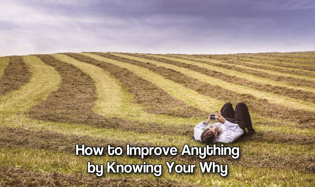 How to Improve Anything by Knowing Your Why