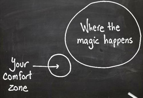 From Comfort Zone to Learning Zone