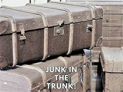 Junk in The Trunk!