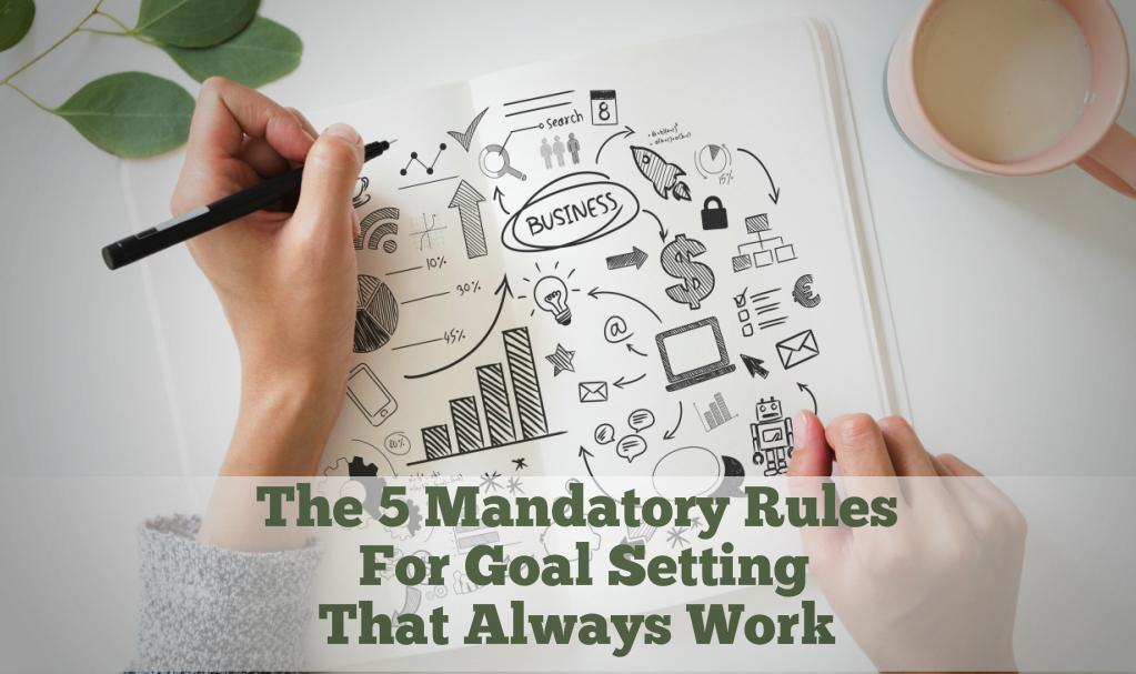 The 5 Mandatory Rules For Goal Setting That Always Work