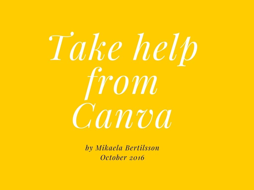 Take help from Canva