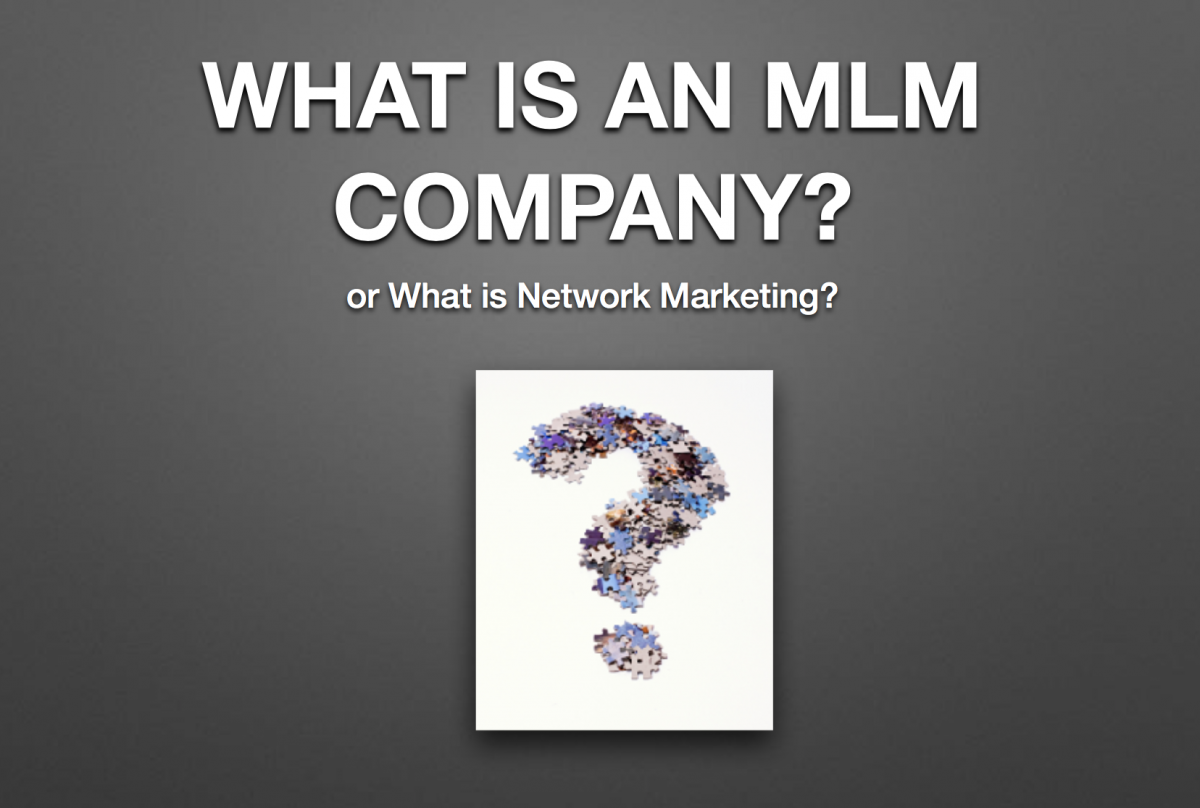 What are MLM companies