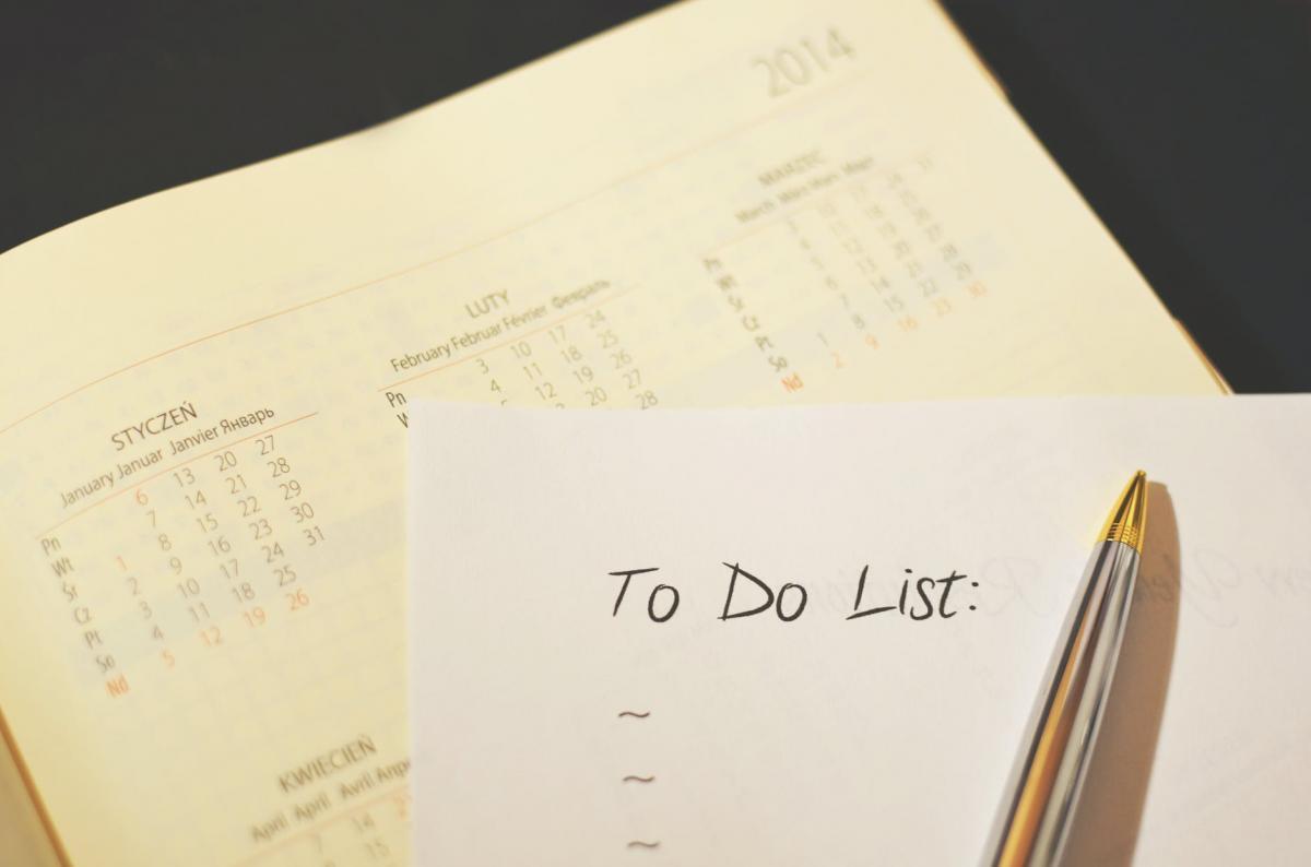 Time Management Part 3: The Short List