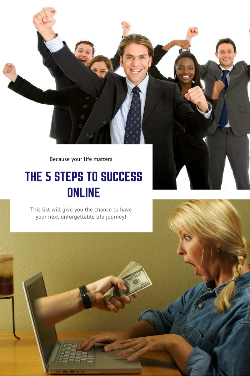 The 5 Steps To Success online