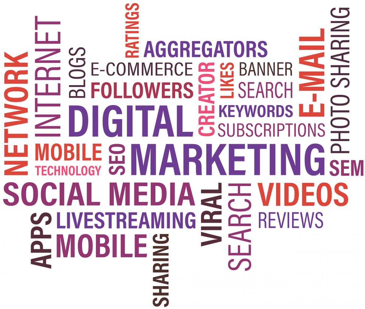 Viral News Webster Terms: Digital Marketing Trends 2017