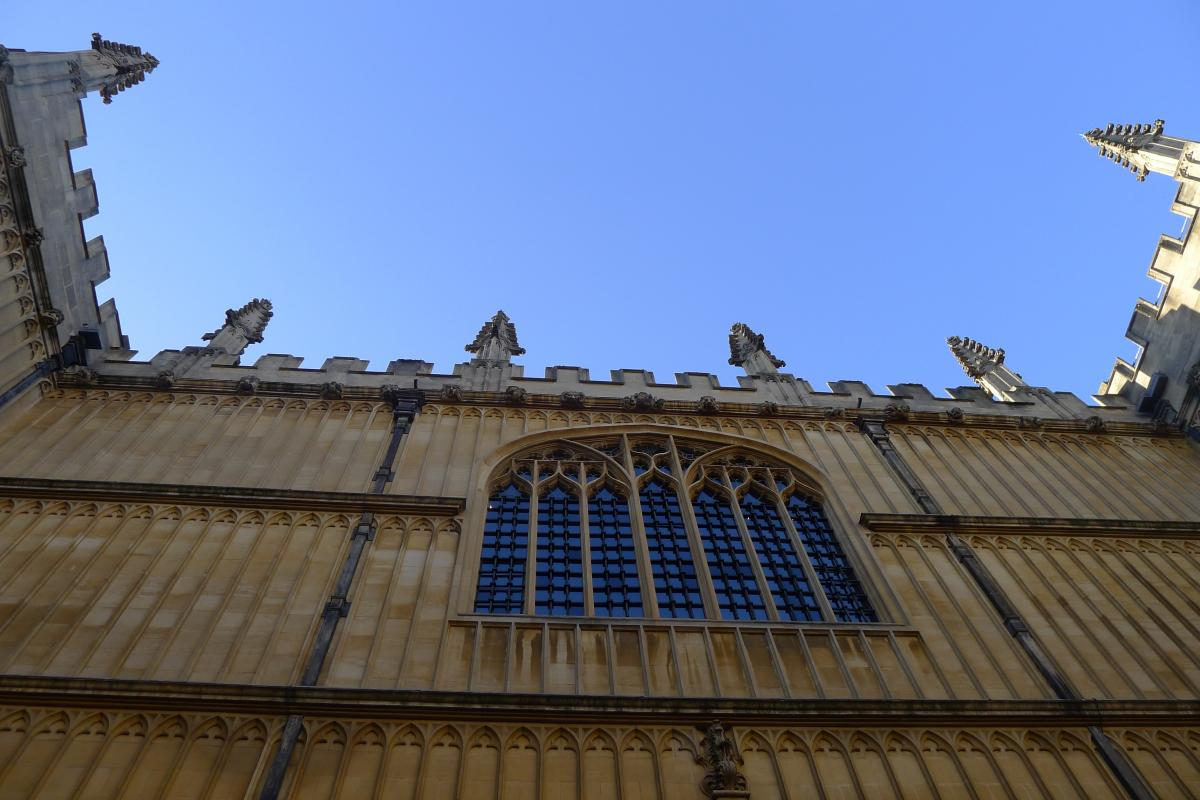 A fantastic experience in Oxford
